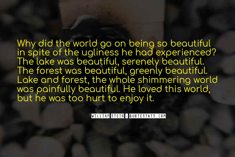 Beautiful Lake Quotes #1194454