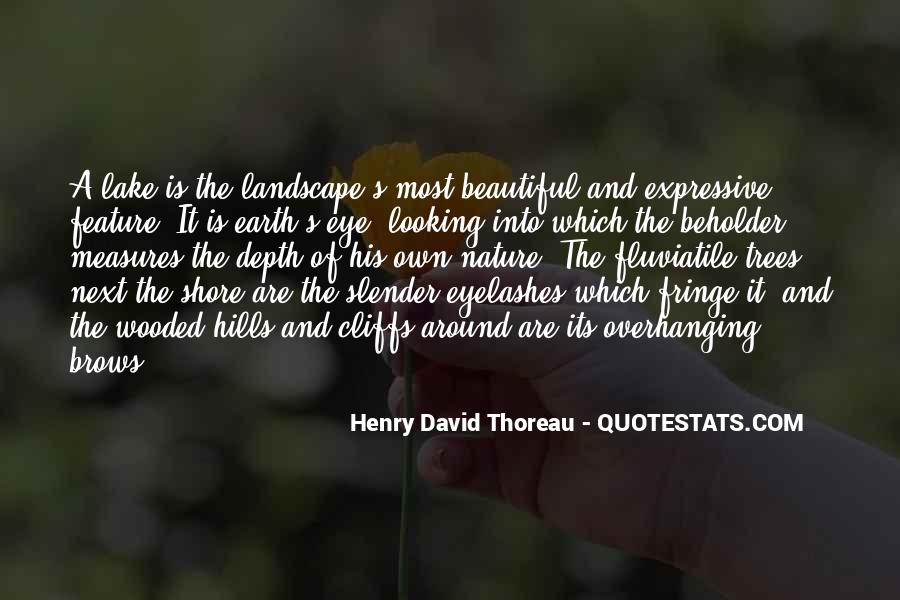 Beautiful Lake Quotes #1274515