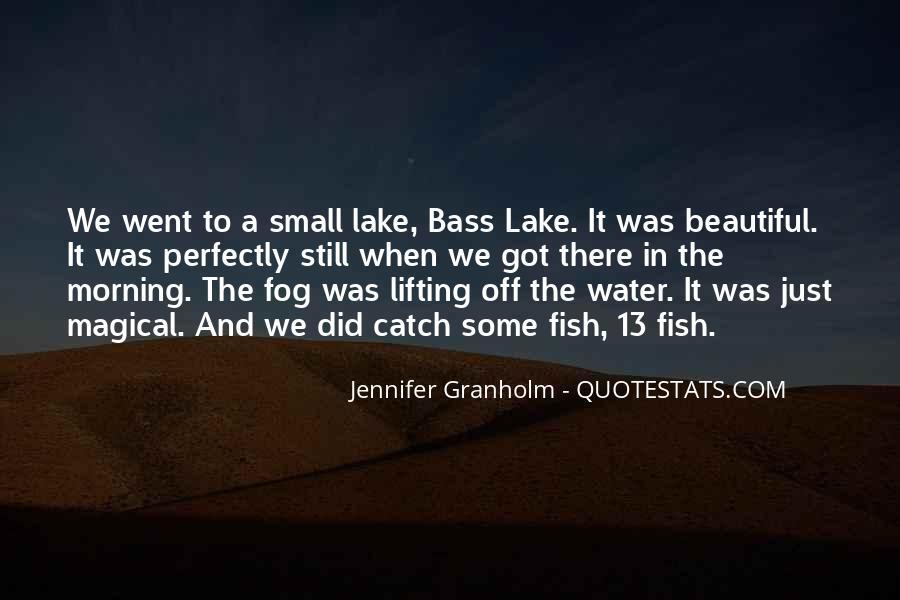 Beautiful Lake Quotes #1489291