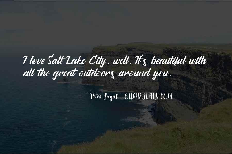 Beautiful Lake Quotes #151803
