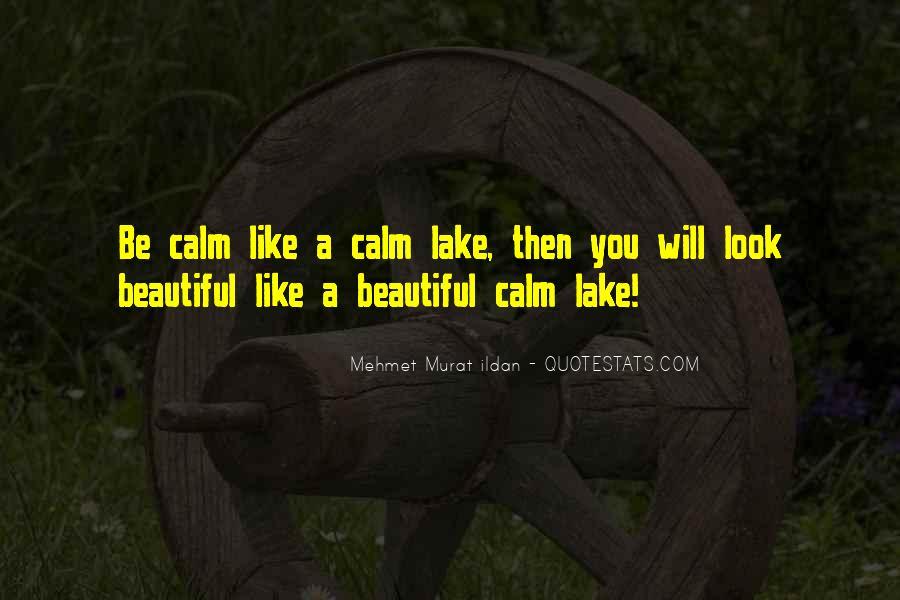 Beautiful Lake Quotes #388502