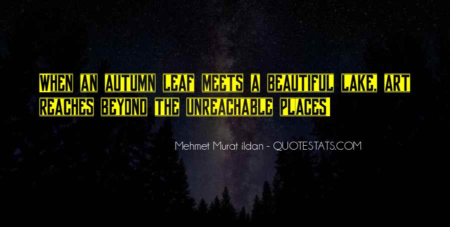 Beautiful Lake Quotes #49572