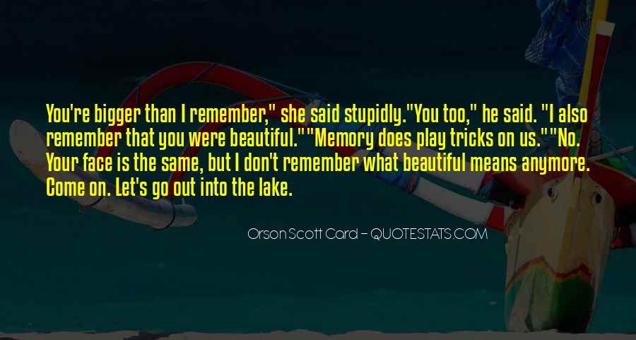 Beautiful Lake Quotes #531910