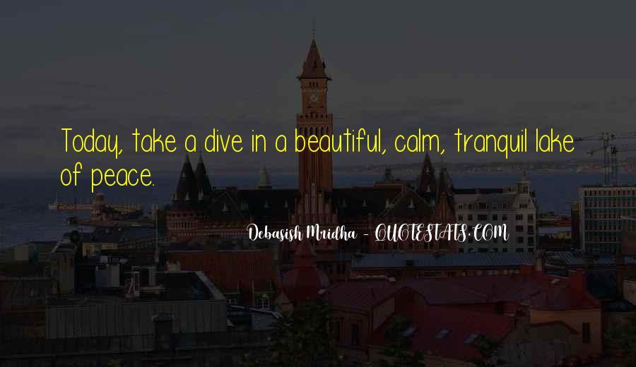 Beautiful Lake Quotes #872964