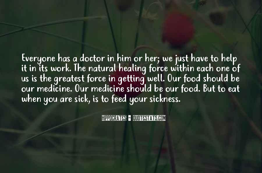 Quotes About Medicine Inspirational #1347265
