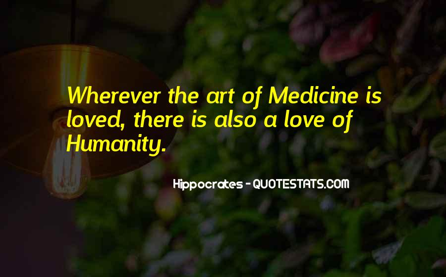 Quotes About Medicine Inspirational #564724