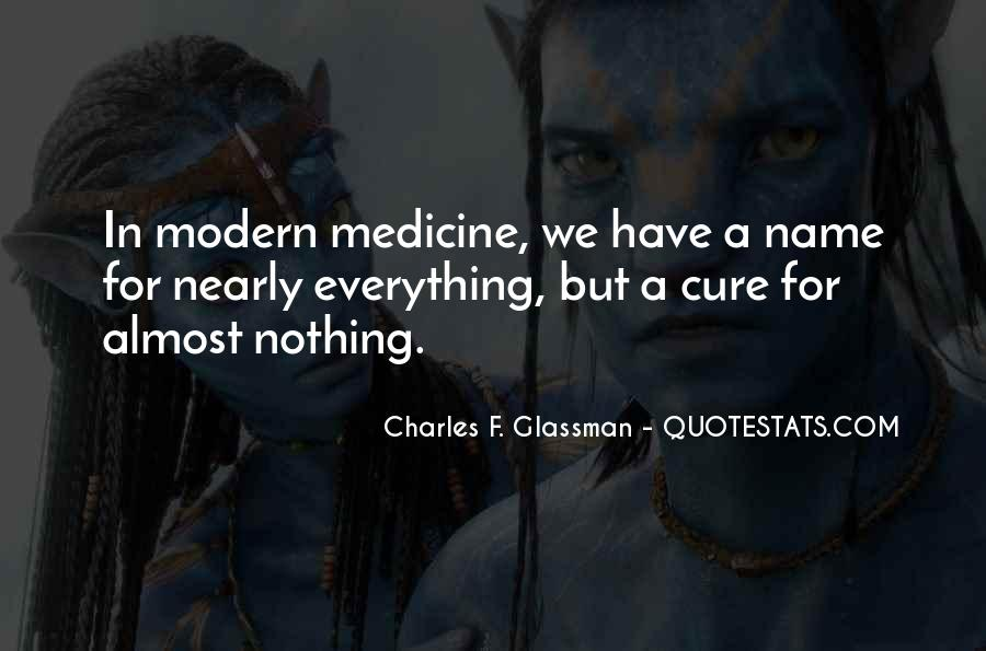 Quotes About Medicine Inspirational #80225