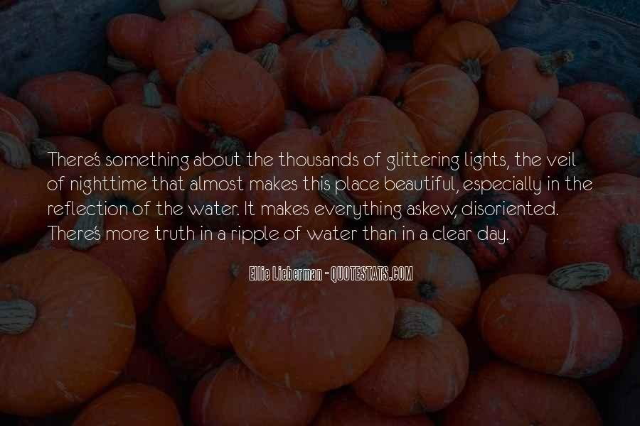 Beautiful Nighttime Quotes #834617