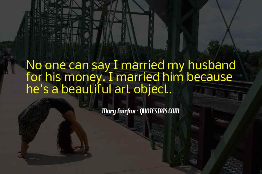 Beautiful Object Quotes #1000550