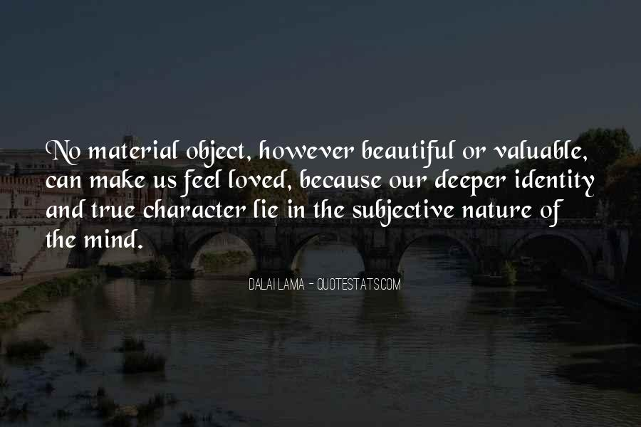 Beautiful Object Quotes #1116077