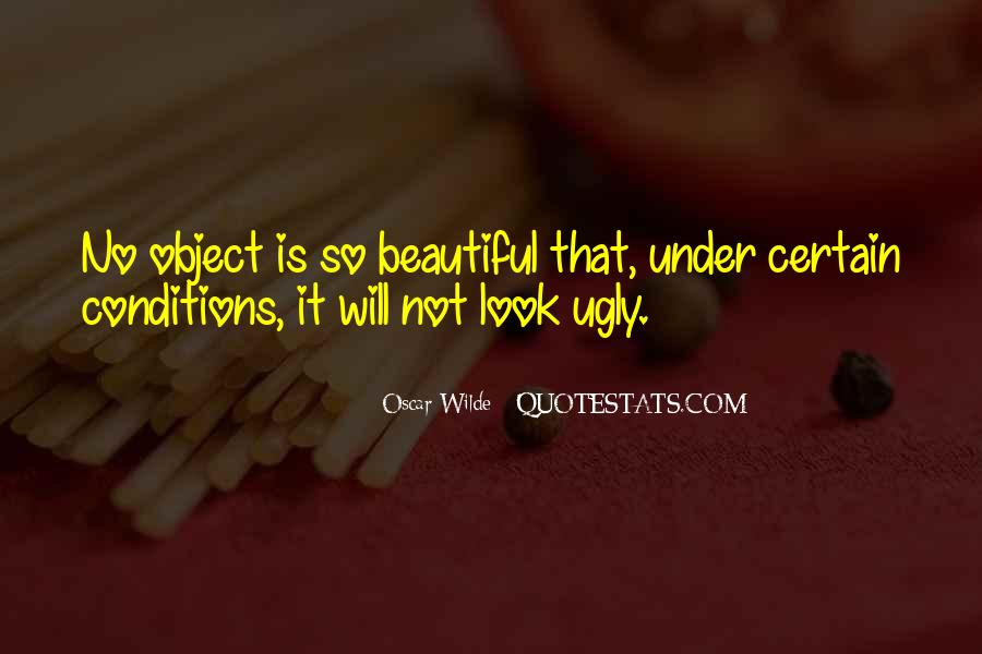 Beautiful Object Quotes #1346698