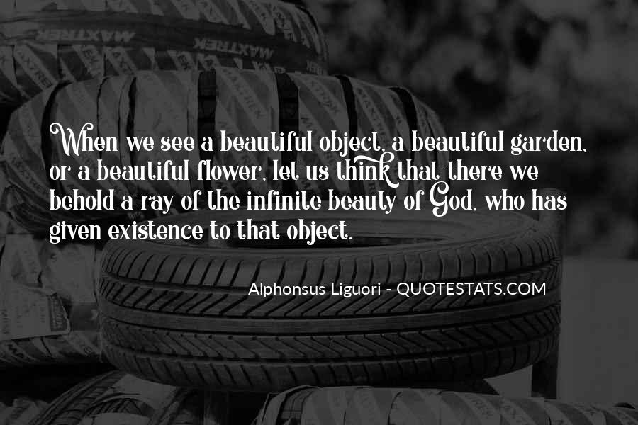 Beautiful Object Quotes #1592853