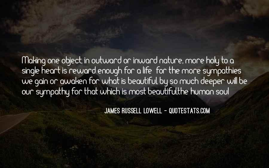 Beautiful Object Quotes #17217