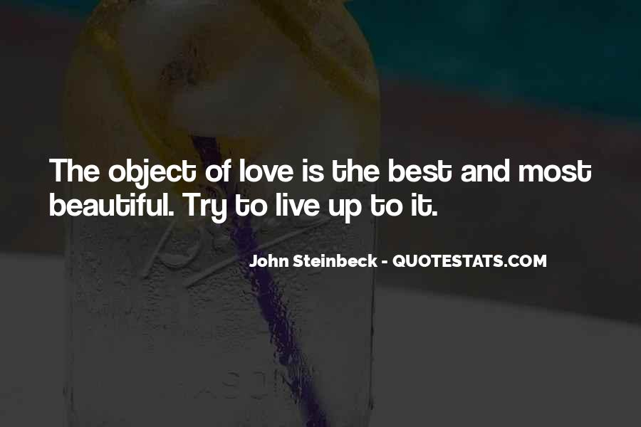 Beautiful Object Quotes #1721727