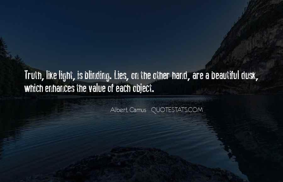 Beautiful Object Quotes #248341