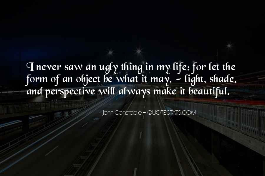 Beautiful Object Quotes #417729