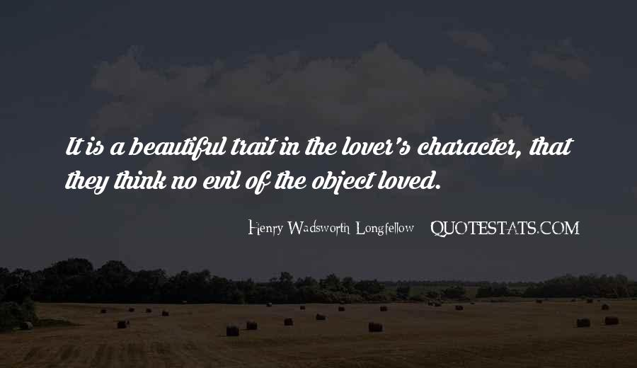 Beautiful Object Quotes #890517