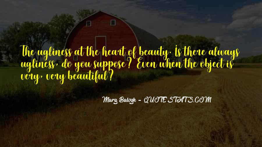 Beautiful Object Quotes #92732