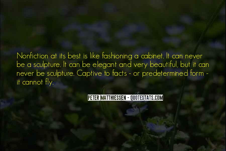 Beautiful Sculpture Quotes #1640938