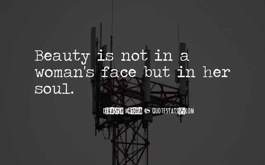 Beautiful Soul Woman Quotes #92654