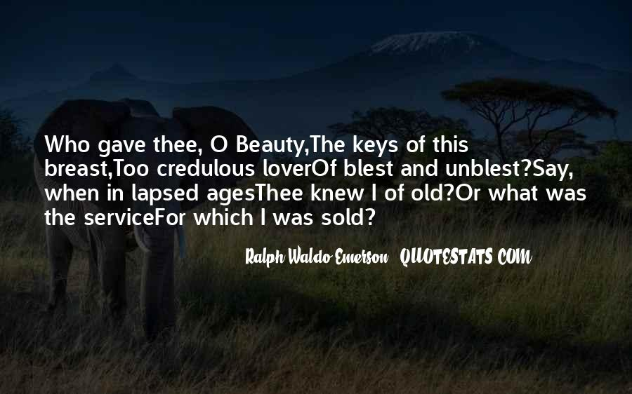 Beauty Ages Quotes #277820