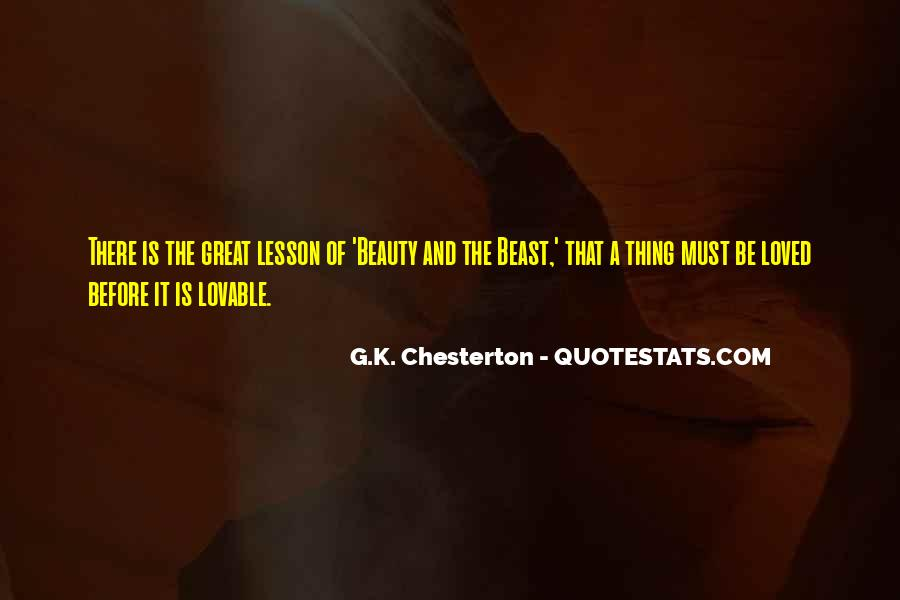 Beauty And Beast Quotes #1410786