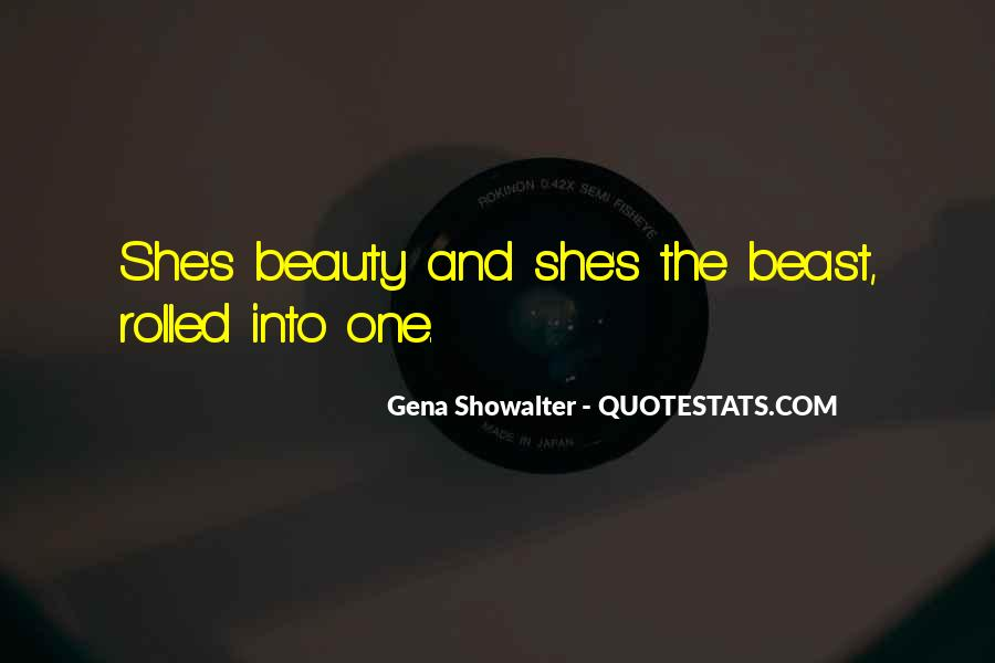 Beauty And Beast Quotes #1505184