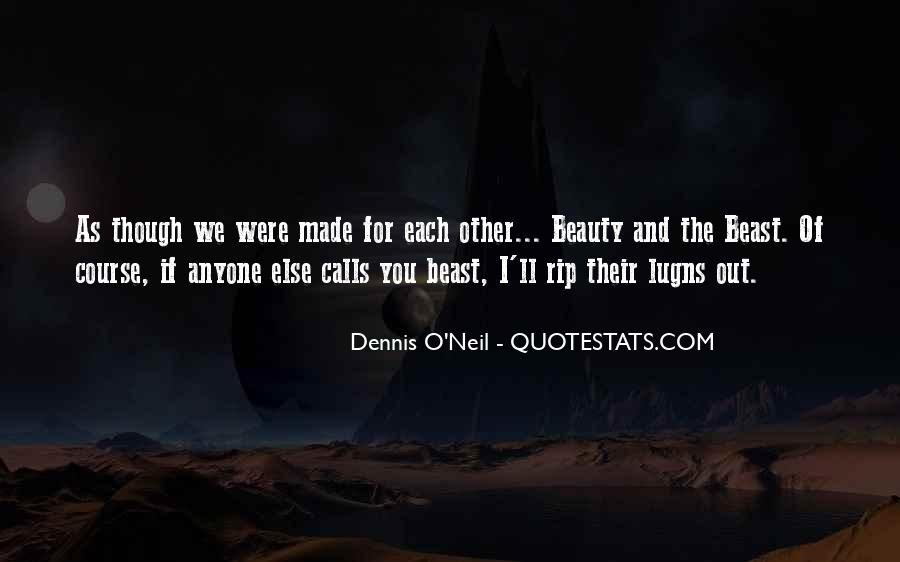 Beauty And Beast Quotes #1690375