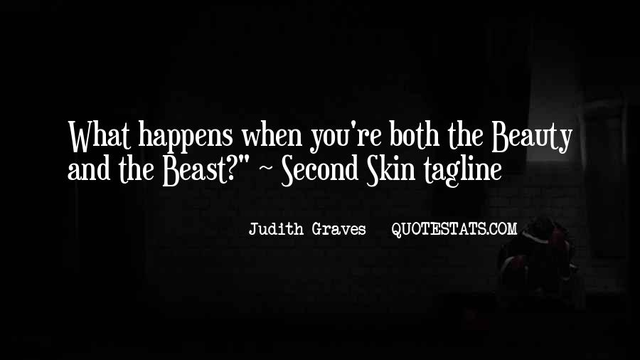 Beauty And Beast Quotes #1703321