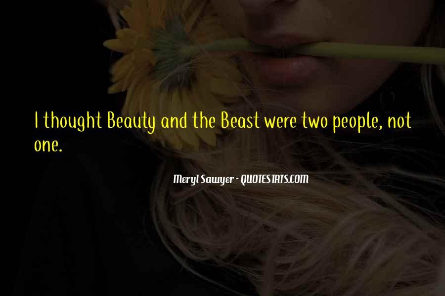 Beauty And Beast Quotes #308144