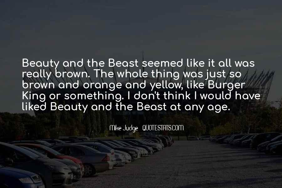 Beauty And Beast Quotes #33615