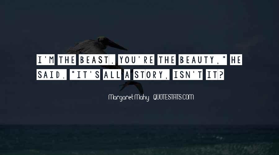 Beauty And Beast Quotes #398805
