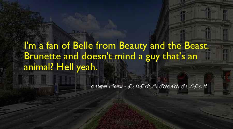 Beauty And Beast Quotes #612646