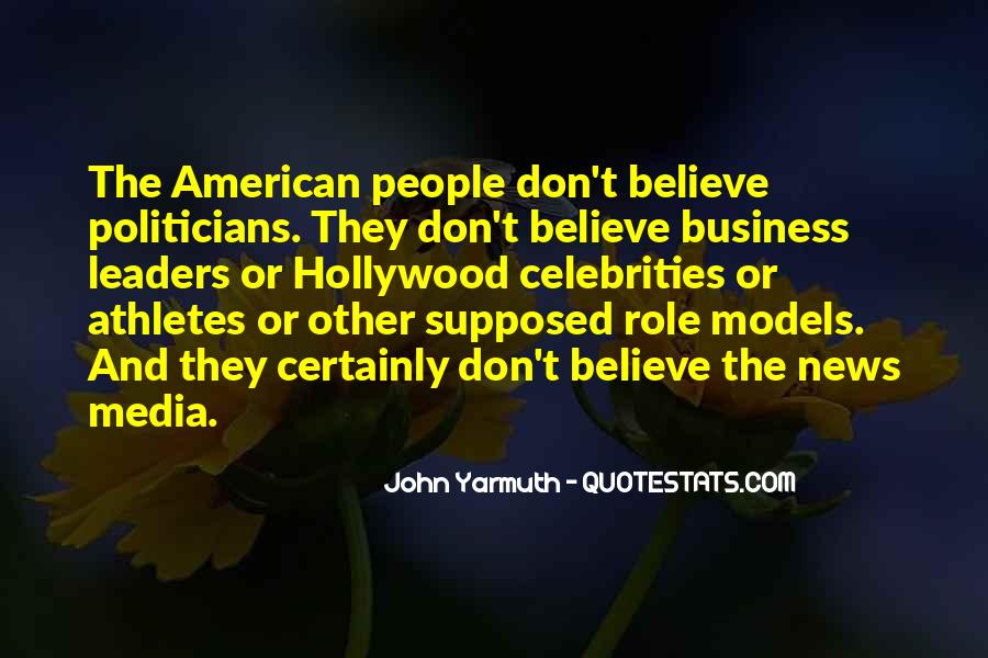 Quotes About Media Role #1775685