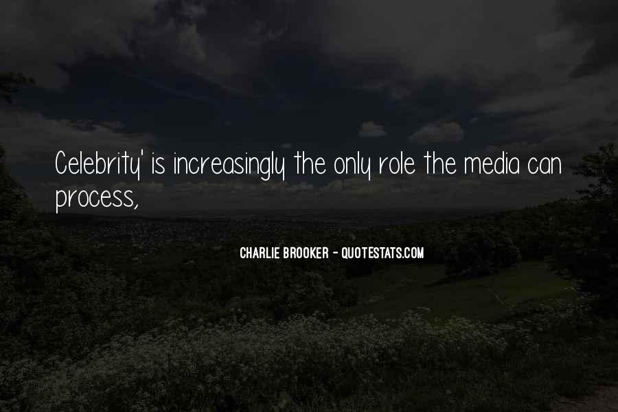 Quotes About Media Role #205772