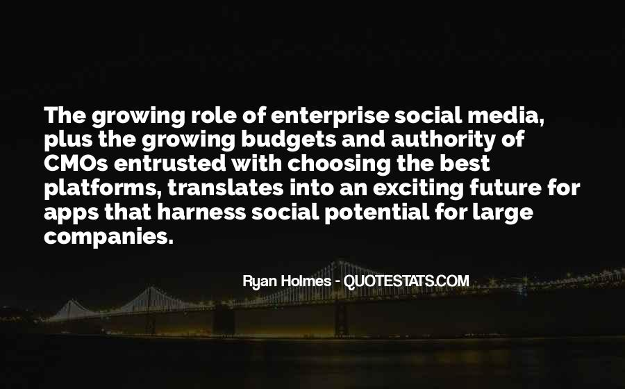 Quotes About Media Role #357978