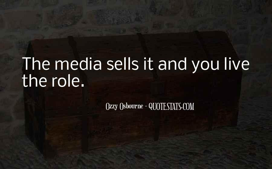 Quotes About Media Role #497494