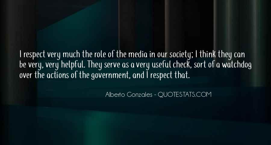 Quotes About Media Role #659274