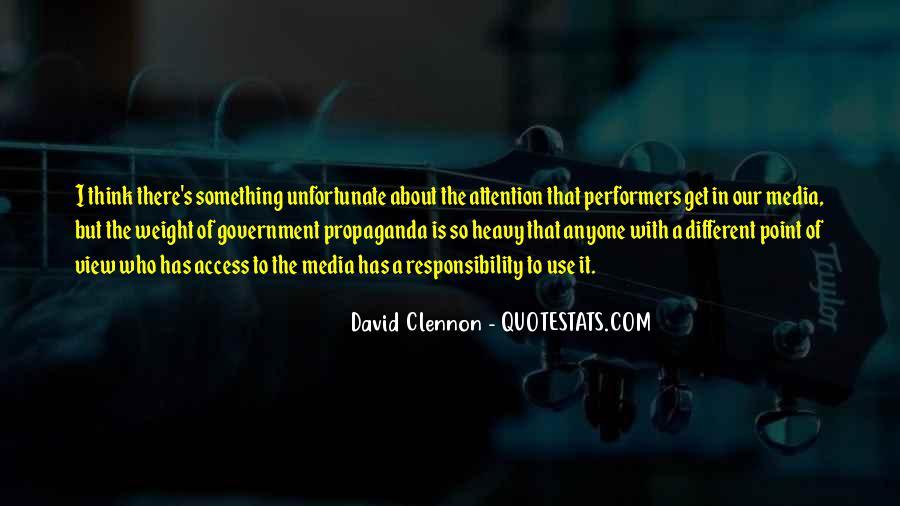 Quotes About Media Propaganda #1457068