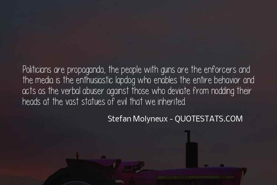 Quotes About Media Propaganda #452679