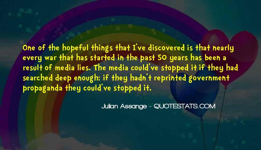 Quotes About Media Propaganda #709140