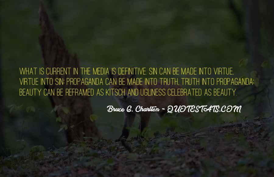 Quotes About Media Propaganda #748666
