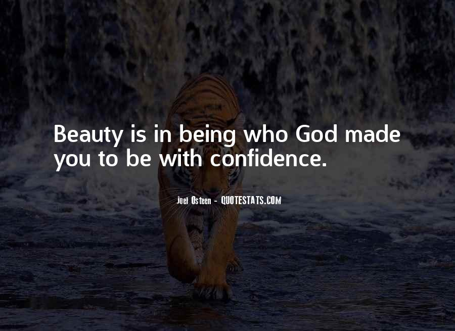 Beauty Comes From Confidence Quotes #12672