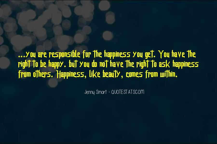 Beauty Comes Within Quotes #1725283