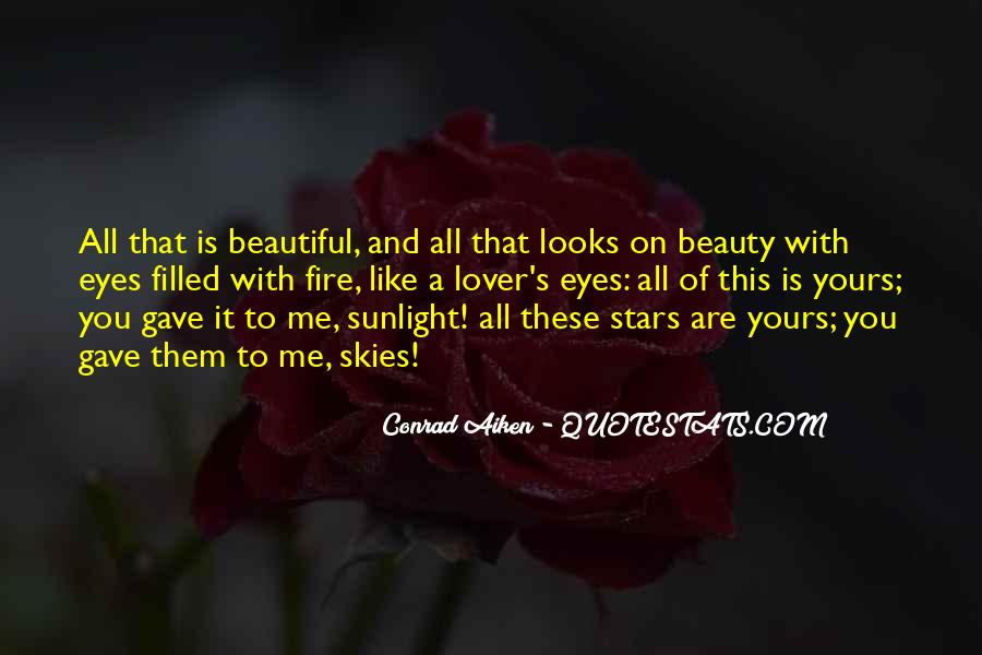 Beauty Comes Within Quotes #3525