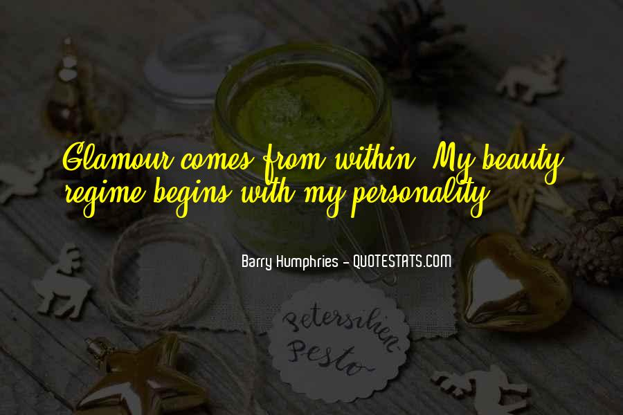 Beauty Comes Within Quotes #438673