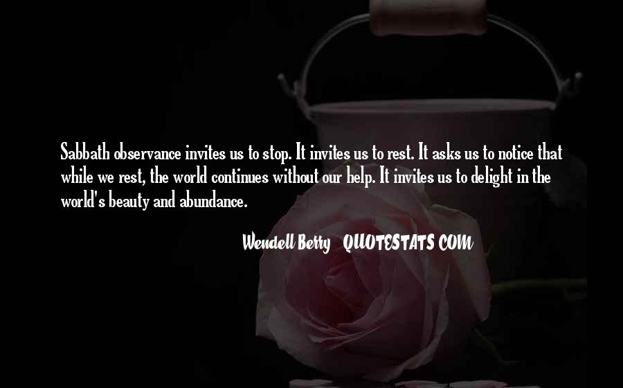 Beauty Comes Within Quotes #6008