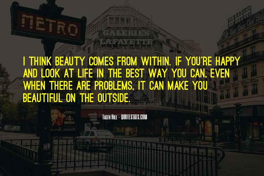 Beauty Comes Within Quotes #640033