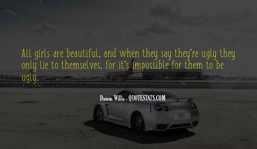 Beauty Comes Within Quotes #805