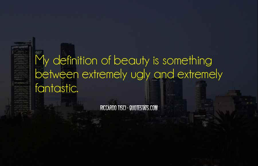 Beauty Definitions Quotes #276370